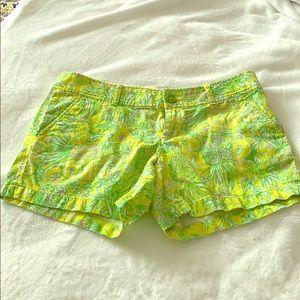 Lily Pulitzer Callahan Shorts   Size 8